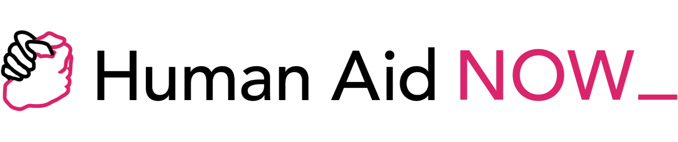 Human Aid Now header logo